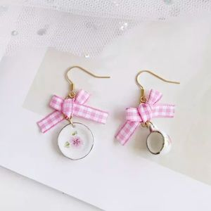 """Tea time"" Vintage miniature Earrings"
